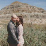 Striking Red Deer River Engagement Session