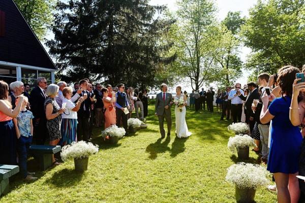 Canadian Garden Wedding At Home Avant Garde Studio