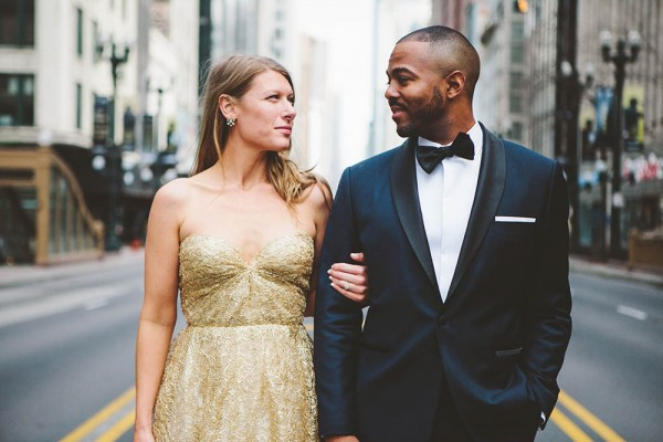 Chicago Wedding Blog: Chic Urban Chicago Wedding At City View Loft