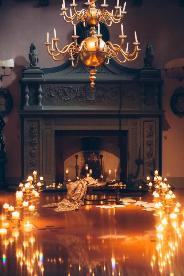 3a21717a79 Italian Gothic Wedding Inspiration at Villa Di Maiano | Junebug Weddings