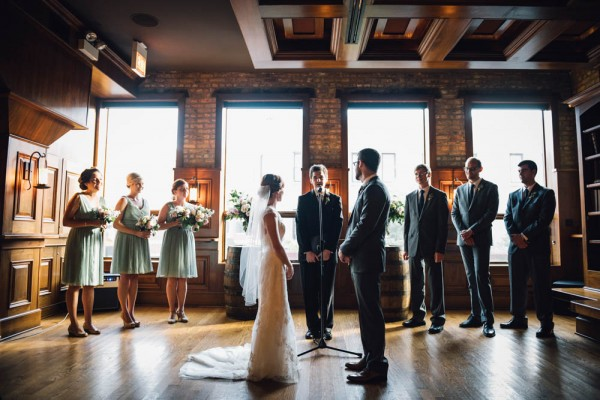 Thoughtful Rustic Wedding At Revolution Brewing Erin Hoyt