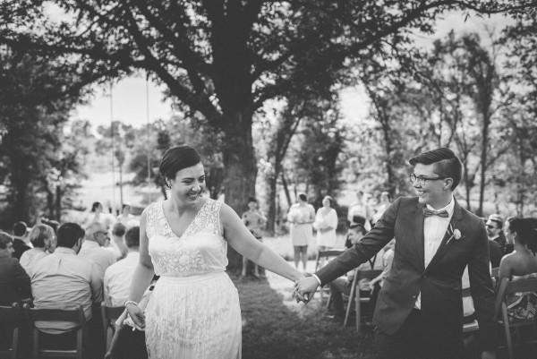 Champagne Wedding at Three Barn Farm | Junebug Weddings