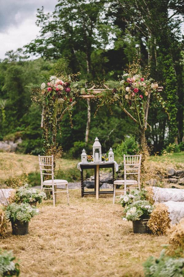 Delightful Irish Garden Wedding At Glengarriff Lodge Junebug Weddings