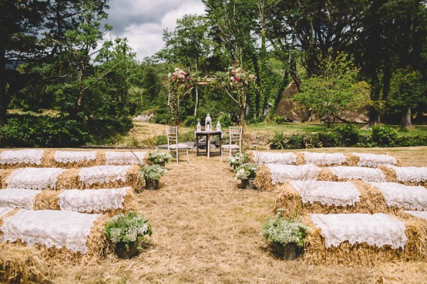 Delightful irish garden wedding at glengarriff lodge for Country garden designs ireland