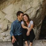 Laid-back Lighthouse Park Engagement Photos
