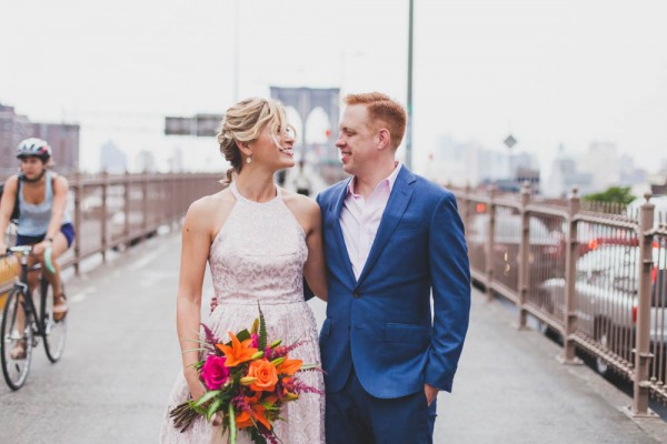 Quirky Intimate NYC Wedding at Freeman\'s Restaurant | Junebug Weddings