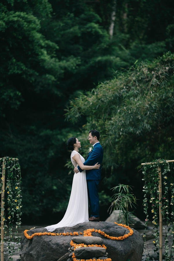 Tropical Bali Wedding At Bambu Indah Eric Ronald