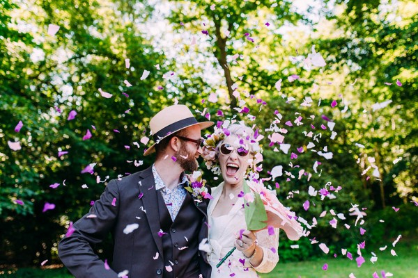Emma and Rory Backyard Orchard Wedding © Anna Pumer Photography
