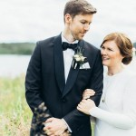 Black and White Nordic Wedding at Devold Fabrikken