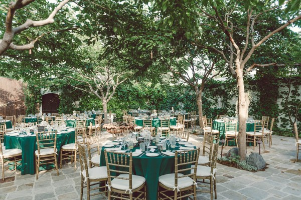 Cly Emerald And Gold Wedding At The Villa