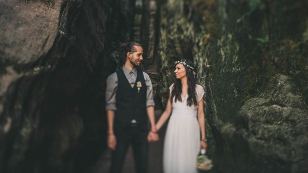 Czech Republic Elopement in the Prachovske skaly-1-2