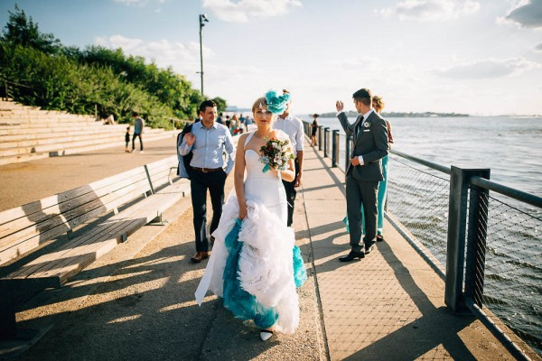 Offbeat Brooklyn Bridge Park Wedding 23 Of 37