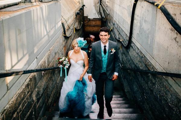 Offbeat Brooklyn Bridge Park Wedding 24 Of 37