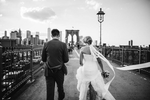 Offbeat Brooklyn Bridge Park Wedding 25 Of 37