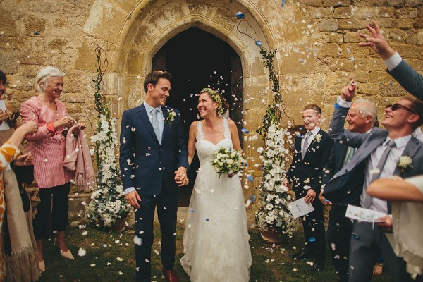 Rustic French Wedding At Chateau De Queille