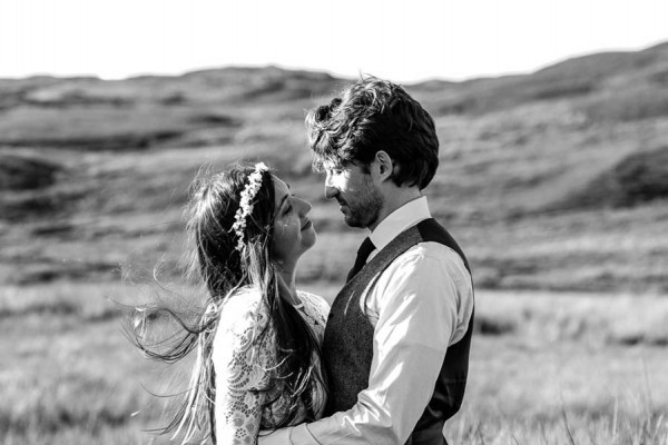 Sentimental Isle Of Skye Elopement Junebug Weddings