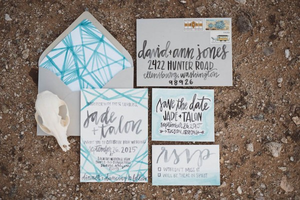 Southwestern Desert Wedding Inspiration in Phoenix Arizona