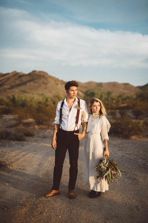 Southwestern Desert Wedding Inspiration In Phoenix Arizona 23