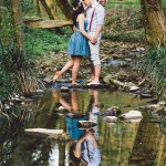 2015 Favorite – Springtime Engagement in the Woods