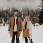 Stay Warm in these 10+ Winter Engagement Outfit Ideas