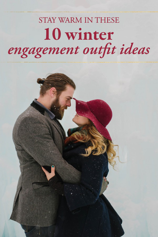 winter engagement outfit ideas