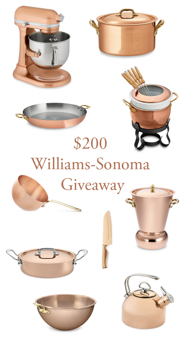 william sonoma giveaway 200 williams sonoma giveaway junebug weddings 6058