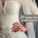 29 Unique Lace Wedding Gowns That Scream Romance