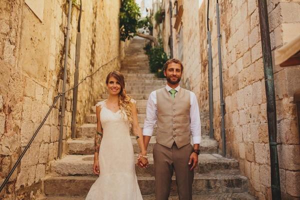 Alternative Beach Wedding At Valamar Dubrovnik President Hotel Junebug Weddings