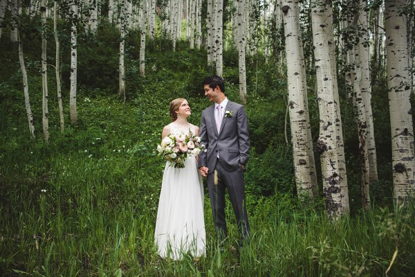 Elegant Colorado Mountain Wedding at the Vail Wedding Deck