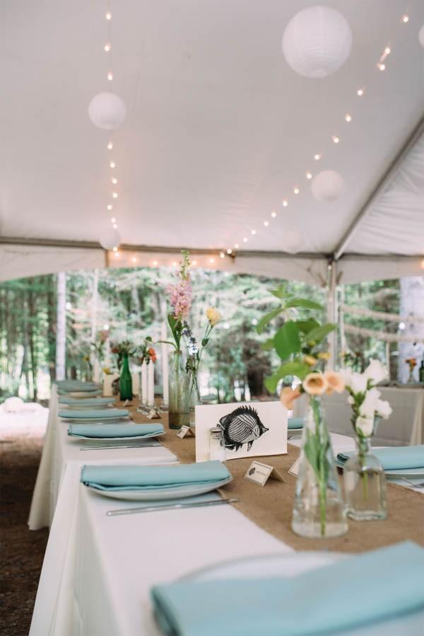 Handmade Lake House Wedding In New York