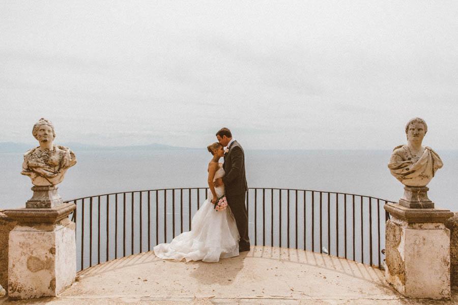 The Italian Villa Gallery Multi Award Winning Wedding: Amalfi Coast Destination Elopement At Villa Cimbrone