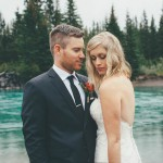 Rainy Mountain Wedding in Quarry Lake Park