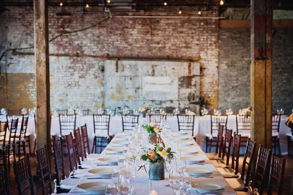 Relaxed brooklyn wedding at greenpoint loft junebug weddings junglespirit Images