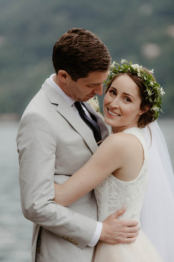 Understated Italian Wedding at Villa Regina Teodolinda
