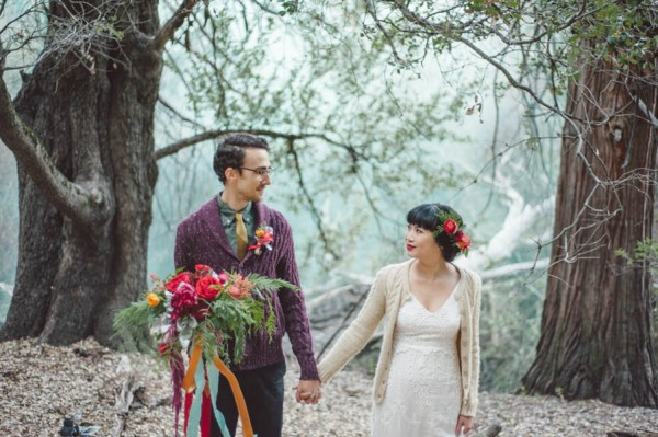 Vibrant Forest Wedding Inspiration in the Palomar Mountains ...