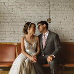 Vintage Industrial Chicago Wedding at Salvage One