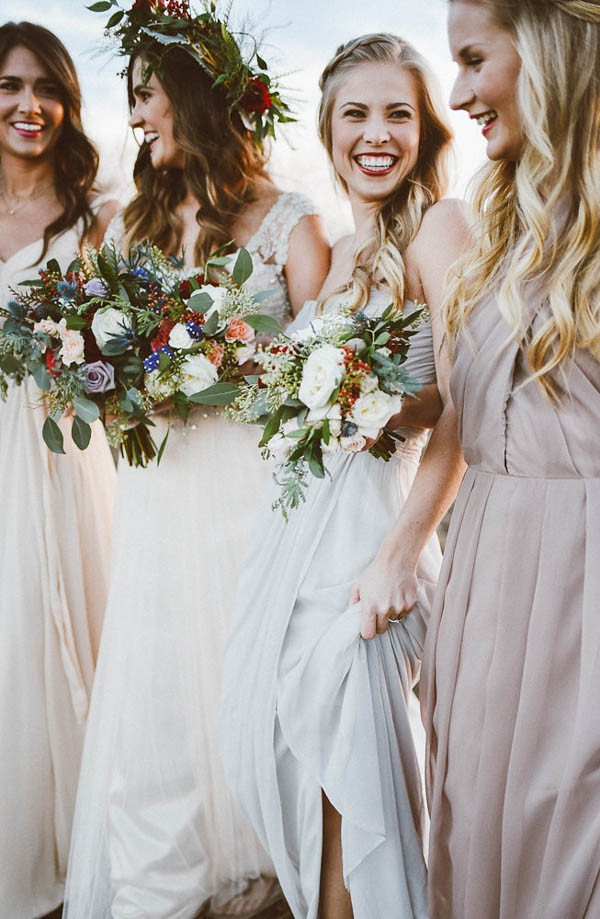 This Winter Bridesmaids Party In The Woods Is Full Of