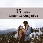 15 Unique Winter Wedding Ideas