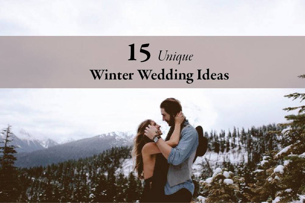 15 unique winter wedding ideas junebug weddings wedding blog junglespirit Choice Image