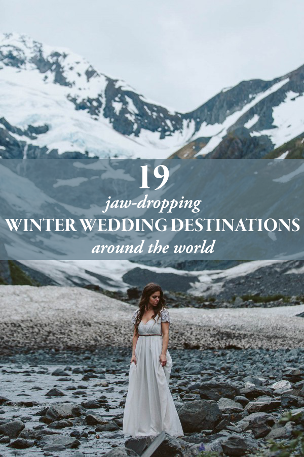 19 jaw dropping winter wedding destinations around the