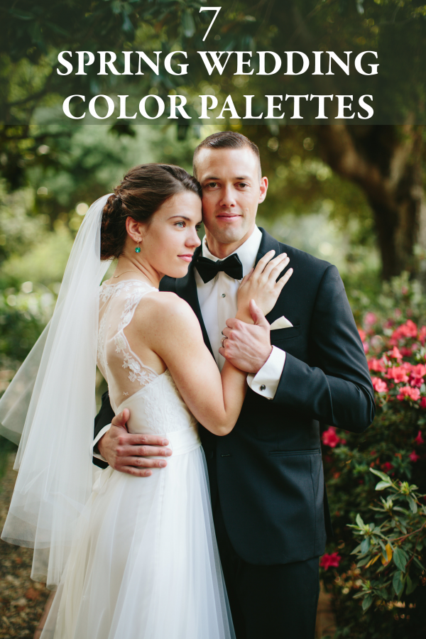 7 Chic Color Combos to Brighten Your Spring Wedding | Junebug Weddings