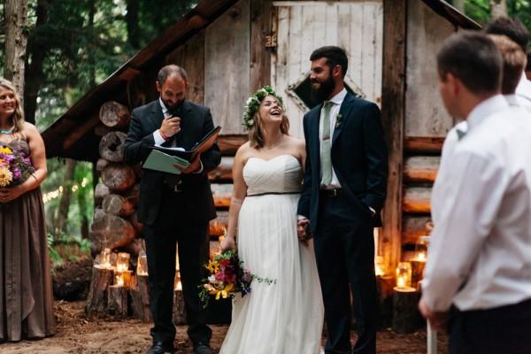 Amy & Joel _ DIY Backyard Forest Wedding-80