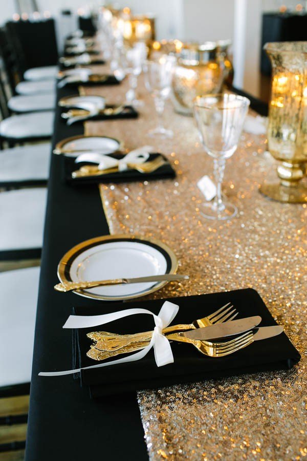 This Toronto Warehouse Wedding Is Black White And
