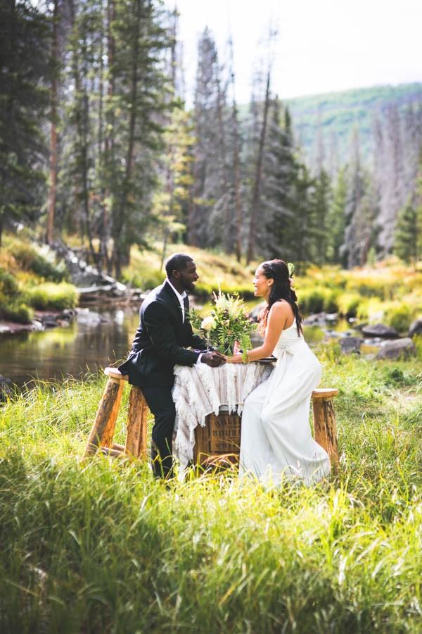 Bohemian Vail Colorado Wedding At Piney River Ranch