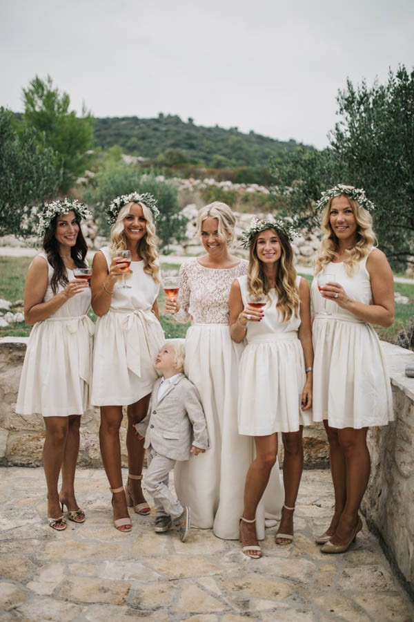 Chic Rustic Croatian Wedding At Fort George Irina
