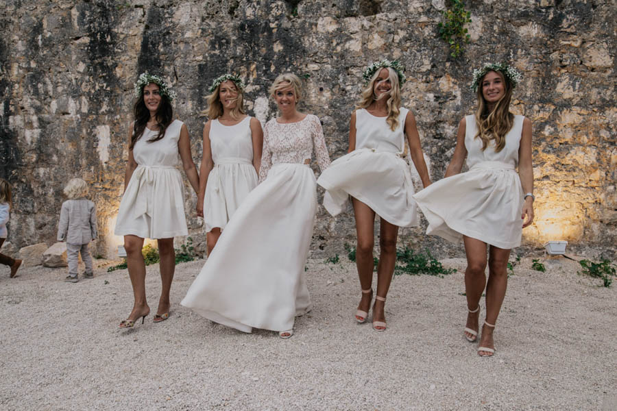 This Fort George Croatia Wedding Is Where Rustic Meets