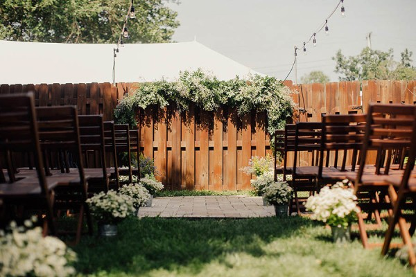 Eco Friendly Wedding At Home In Cleveland Addison