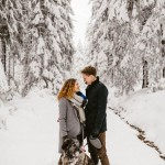 Feeling a Little Frozen? This Harz Forest Engagement Session Will Warm Your Heart