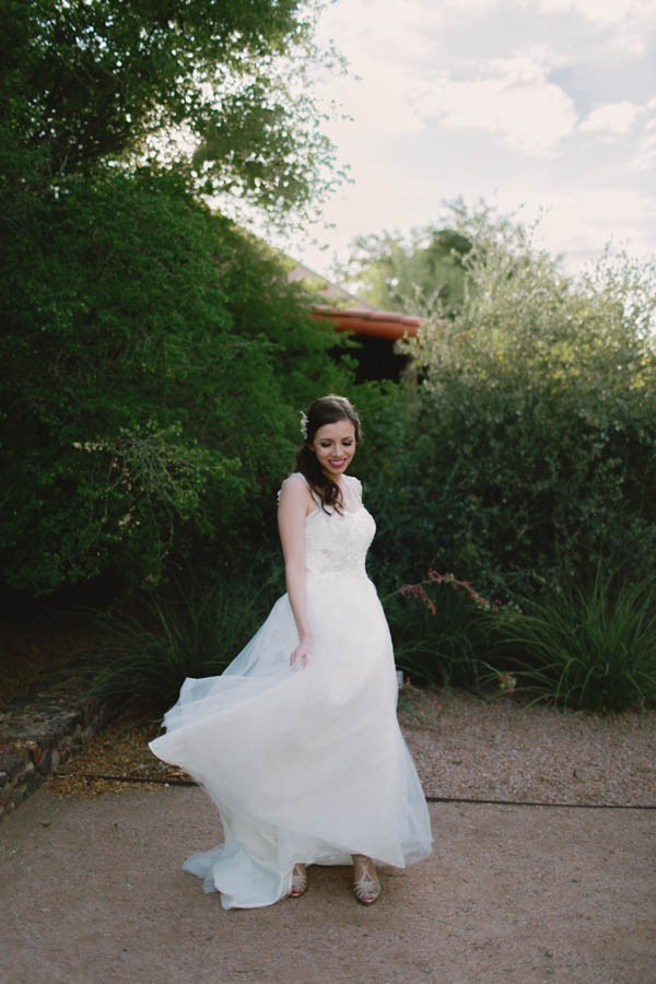 Navy Blue Phoenix Wedding Among The Cacti Junebug Weddings