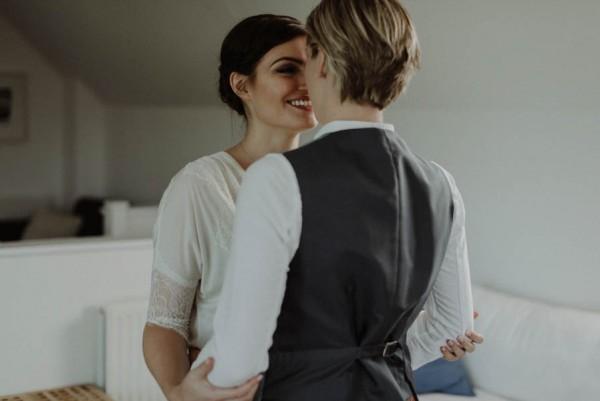 This Same-Sex Fairy Glen Wedding Will Move You To Tears  Junebug Weddings-7005